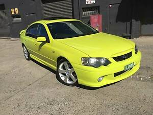 2003 Ford Falcon BA XR6 TURBO, LEATHER ROOF AUTO REG RWC West Footscray Maribyrnong Area Preview