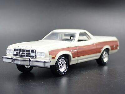 1973 73 FORD RANCHERO SQUIRE PICKUP TRUCK W/ HITCH 1:64 SCALE DIECAST MODEL CAR