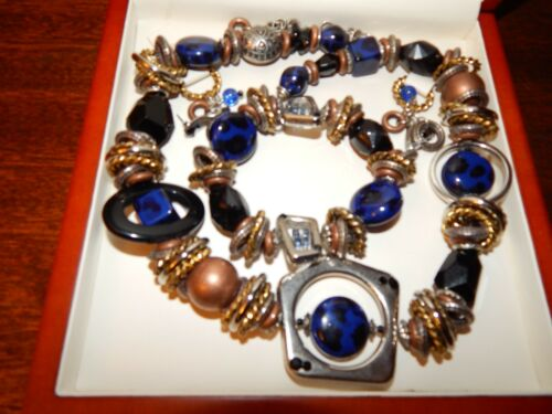 Antique Jewelry, 4 piece set, with Nice Jewelry Box included with this sale