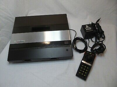 Atari 5200 Launch Edition Black Console Tested and working