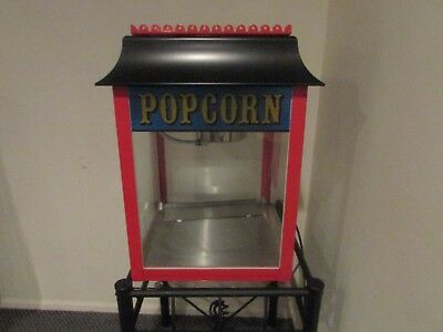 Theatre Movie Concession Popcorn Machine Tabletop Nineteen Eleven Co 01911 Nice