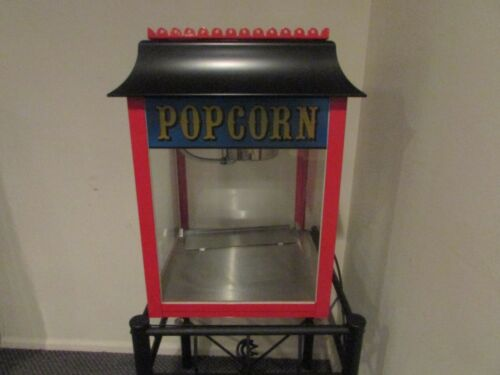 THEATRE MOVIE CONCESSION POPCORN MACHINE TABLETOP NINETEEN ELEVEN CO #01911 NICE