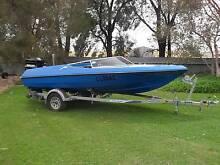 Pride Panther Fish/Ski/ Wake Board, 135 Hp Mercury Black Max Booborowie Goyder Area Preview