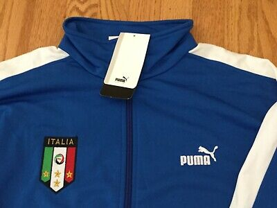 NOS 2006 TEAM ITALIA Italy National Team World Cup Puma Warm Up Jacket  2006 Italy World Cup