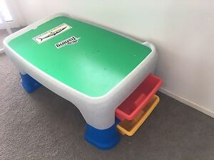 Little Tikes East Adjust Play Table/ kids Desk/ lego table Pelican Waters Caloundra Area Preview