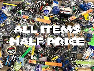Half Price Fishing Items. Korda ESP Nash Guru Drennan Preston Fox Avid Garner