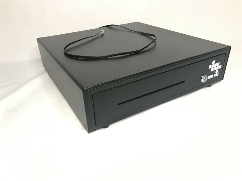 EOM-POS Cash Register Money Drawer Compatible with Square EOM-100