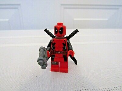 Lego Deadpool Minifigure Preowned from set 6866
