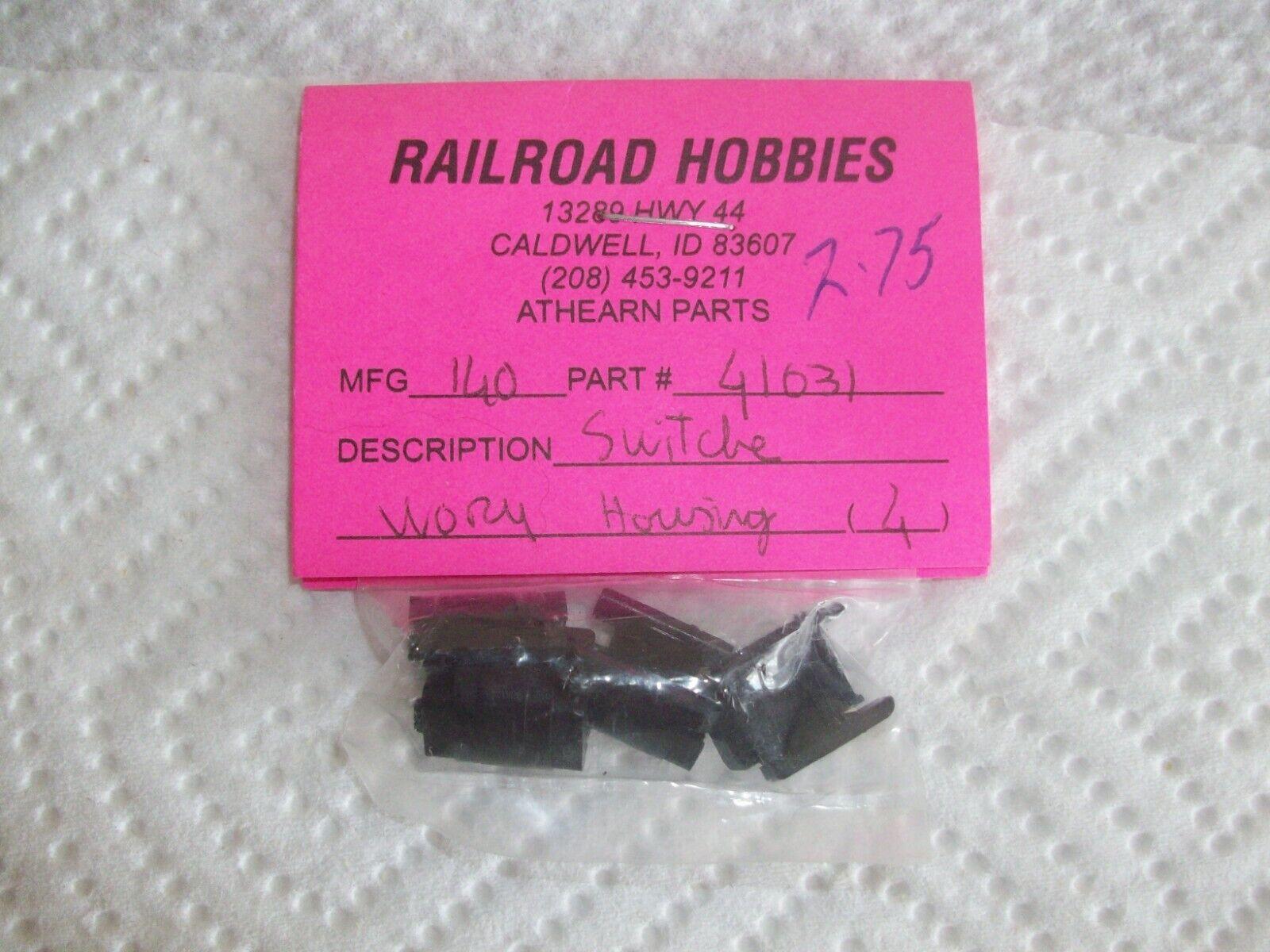 Athearn Blue Box HO Switcher Locomotive Worm Housing 4pc 41031 140-41031 - $3.99