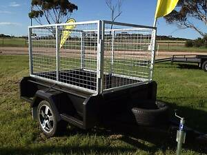 6X4 SERIOUSLY HEAVY DUTY FULL BODY CAGED TRAILER Adelaide CBD Adelaide City Preview