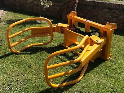 BALE GRAB/SQUEEZE WITH JCB BRACKETS  Telehandler/Tractor/Manitou/Merlo