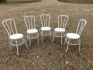 Steel antique chairs