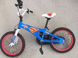 Superman bike. Boys bicycle