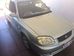 2005 Hyundai Accent Hatchback - Great Condition, Low Mileage Glendalough Stirling Area Preview
