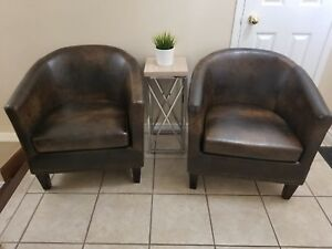 Beautiful Accent Tub Chairs