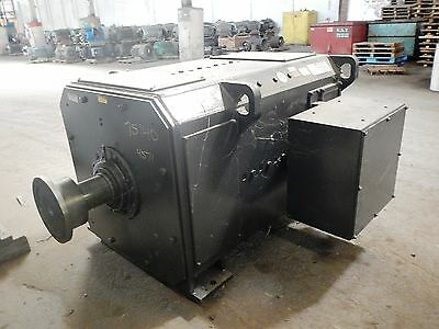 200 HP DC General Electric Motor, 250 RPM, 4571 Frame, DPFV, 500 V Arm.