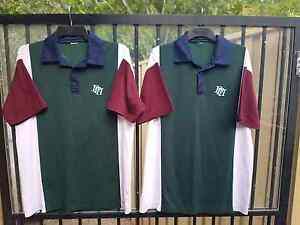 PACIFIC PINES, SCHOOL UNIFORM  SPORTS POLO SHIRTS X2 Pacific Pines Gold Coast City Preview