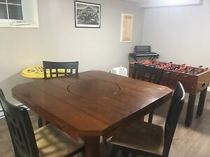 Great table and chairs for sale
