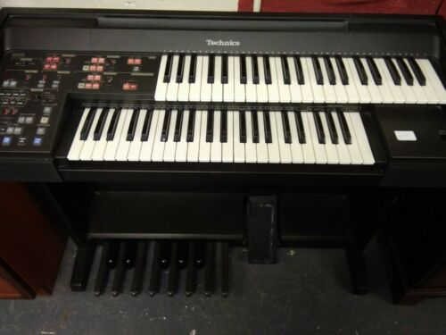 Technics Electronic Organ PCM SOUND EX10L Retro Vintage
