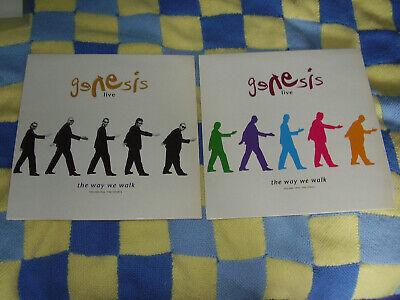 Genesis - Live (The way we walk vol 1 & 2) Both Vinyl LP albums 1992 &