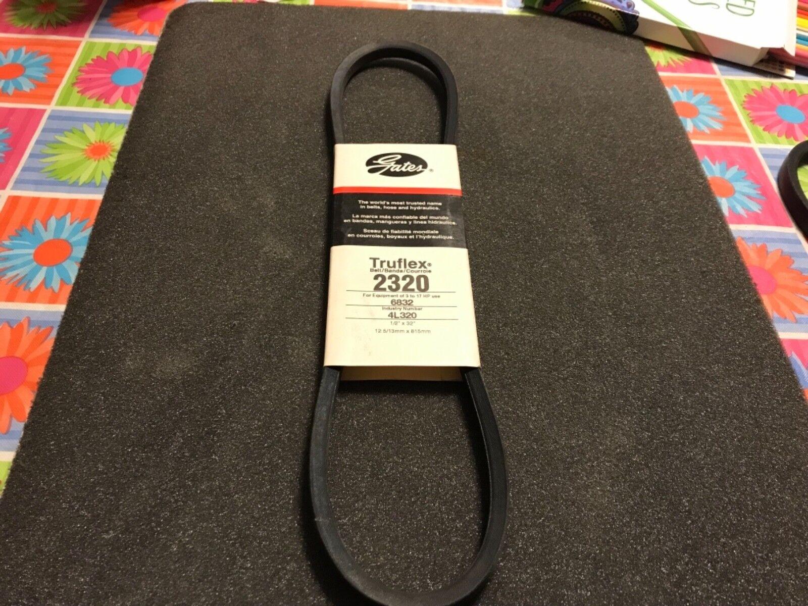 30 Length L Belt Section Rubber Browning Industrial Belts 2L300 FHP V-Belt