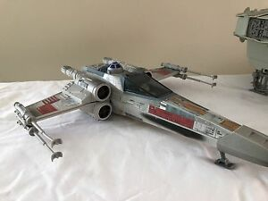 Star Wars POTF X-Wing and MILLENNIUM FALCON