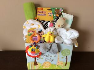 Baby Gift Basket Neutral Gender