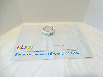 Starter Shipping Supplies Ebay Logo Tape Poly Bags Lot