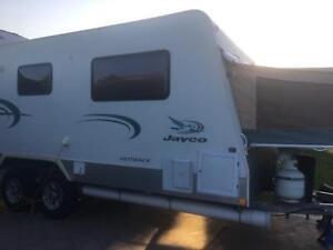 Family van Jayco outback expanda sleeps 5