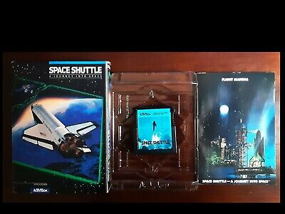 SPACE SHUTTLE  Complete in Box (Cart)  Activision (1983)  Atari 400/800/XL/ XE