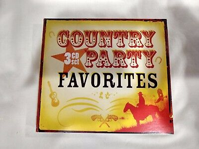 Country Party Favoriten 3 CD Set Legacy Unterhaltung inklusive cd4994