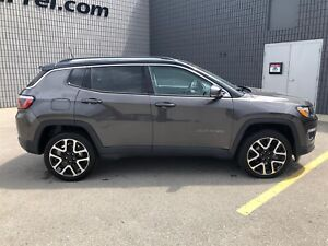 2018 Jeep Compass Limited   PANO ROOF   NAV   REMOTE START  