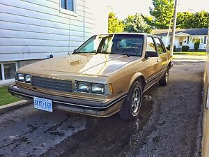 1986 Chevrolet Celebrity - Saftied! No etest required!
