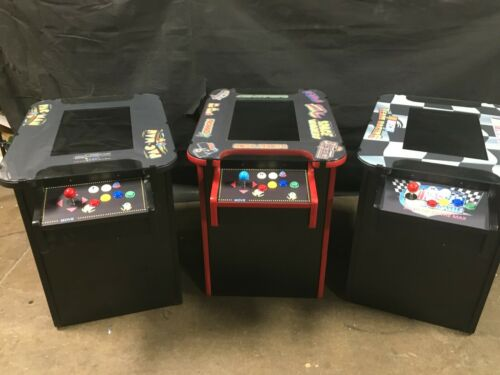 """Cocktail Arcade Machine With Large 21"""" Monitor and 412 Classic Games"""