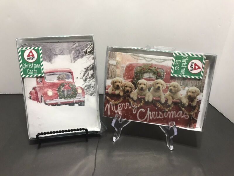 County Dog Christmas Holiday Cards , 2 Boxes