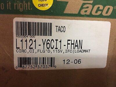 New Taco Loadmatch L1121-y6ci1-fhan Circulator Pump 115 Vac
