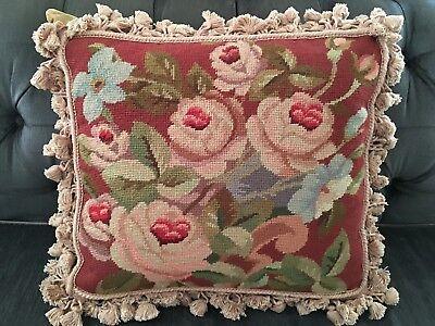 Подушка French Gobelins Tapestry Wool Aubusson