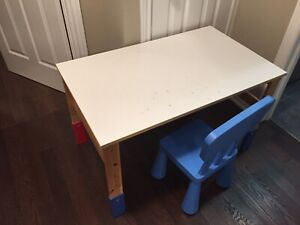 IKEA kids table with chair