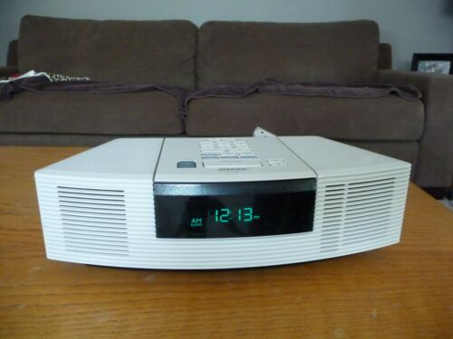 Bose Wave Radio CD Player Platinum White   AWRC-1G Warranty