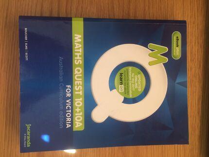 Jacaranda Maths Quest 10+10A - eBook