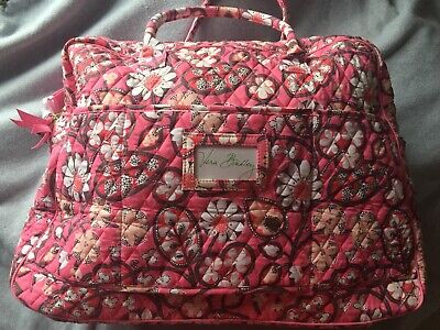 "~VERA BRADLEY ""Blush Pink"" Grand Traveler Bag -Retired 2016- ""NWT"" Pink Floral"