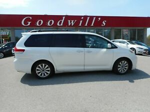 2011 Toyota Sienna LTD! HEATED LEATHER! NAVI! DVD! QUAD SEATS!