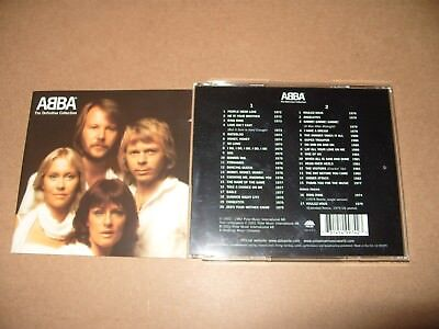 ABBA  Definitive Collection (2001) 2 cd  Ex Condition