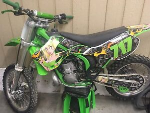 REDUCED 2002 KX250 completely rebuilt, trade for a boat