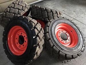 Bobcat wheels Craigieburn Hume Area Preview