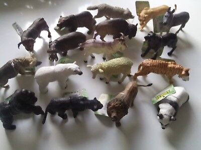 Spielzeug Tiere Safari Bauernhof Dschungel - kostenloser Versand - ca. 8cm