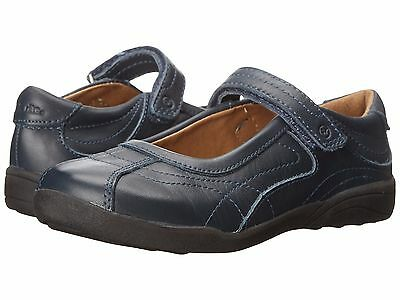 Stride Rite Navy Leather MaryJanes School Shoes  Little Girls Size 10 1/2 M