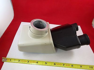 Microscope Part Nikon Japan Trinocular Head Optics As Is Bin73-15