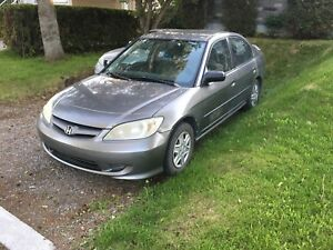 Honda civic 2005 manuel