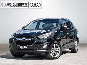2015 Hyundai Tucson Limited|1 Owner|No Accidents|Navi|Leather